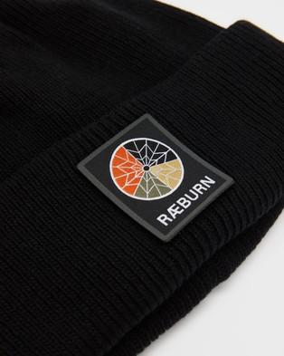 Christopher Raeburn - Logo Beanie Headwear (Raeburn Black)