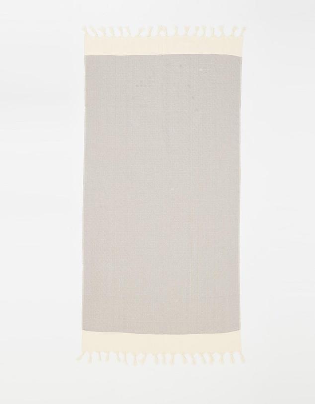 Life Santorini Grey Turkish Towel