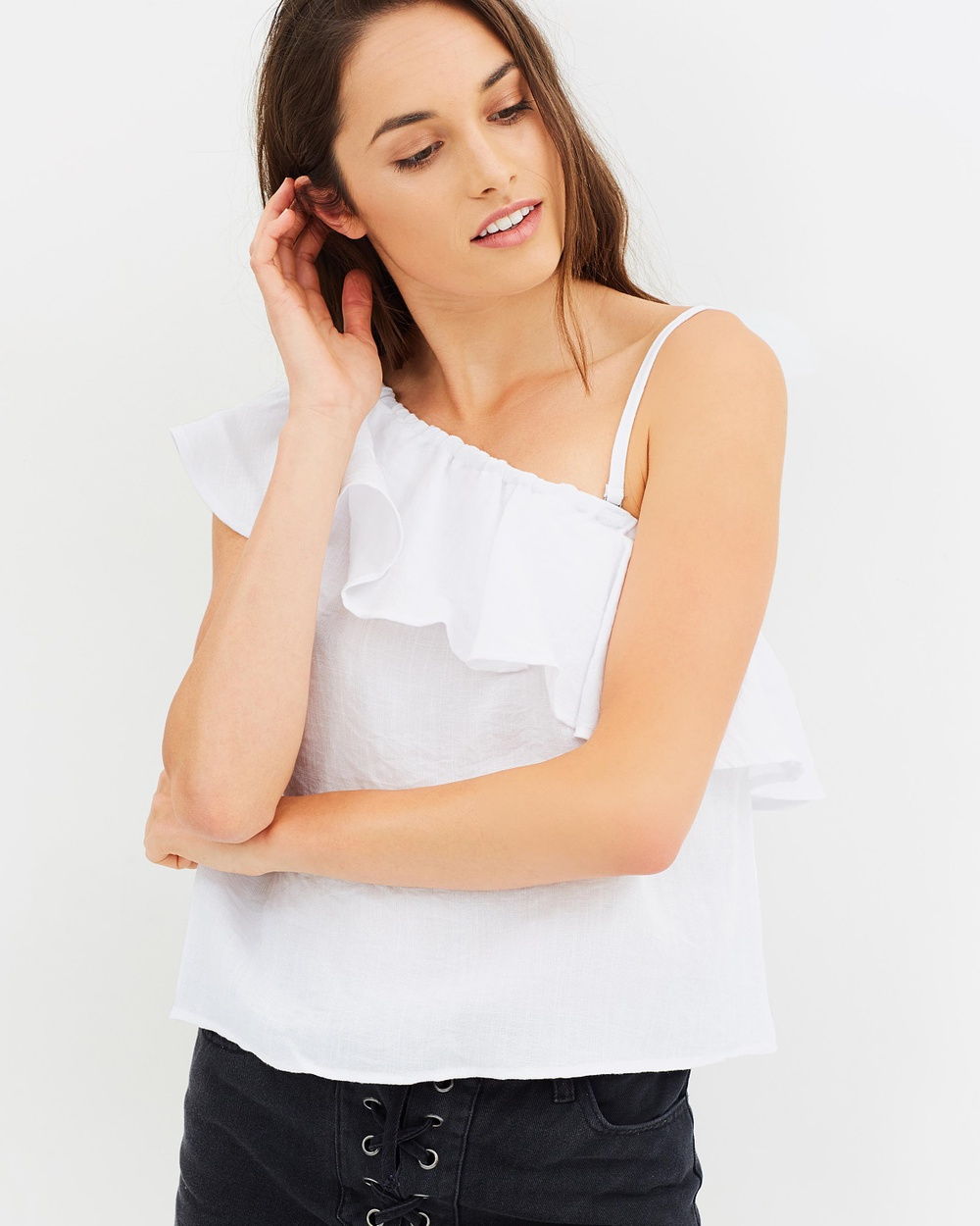 All About Eve Cora Top Tops White Cora Top