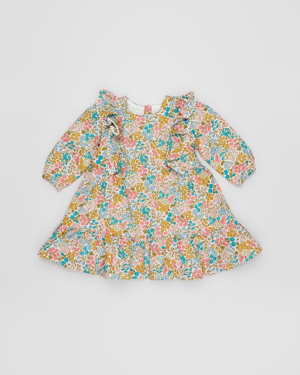 querido conjunto desaparecer  Liberty Frill Dress - Babies by Bebe by Minihaha Online | Oft-gov |  Australia