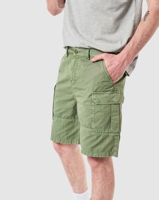 Elwood - Andy Cargo Short Shorts (Forest)