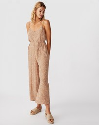Cotton On - Woven Vicky V-Neck Jumpsuit