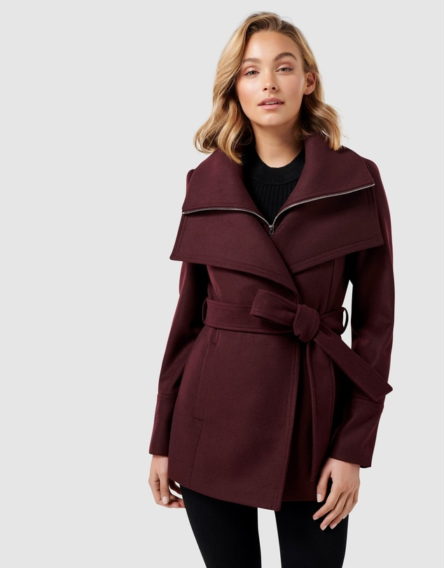 Forever New - April Cropped Coat