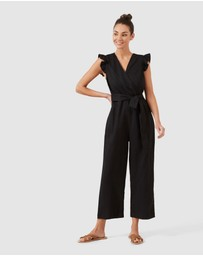 French Connection - Wide Leg Jumpsuit