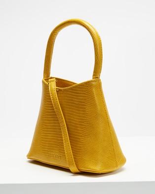 Brie Leon The Mini Chloe - Handbags (Turmeric Lizard)