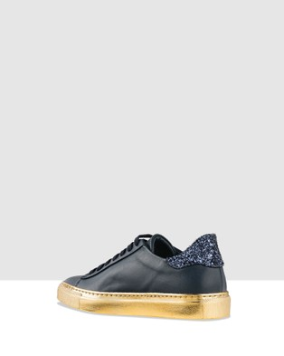 Habbot Wala Lace Up Sneakers - Slip-On Sneakers (Navy)