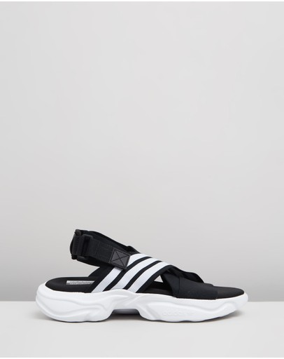 Adidas Originals Magmur Sandals - Women's Core Black Cloud White &