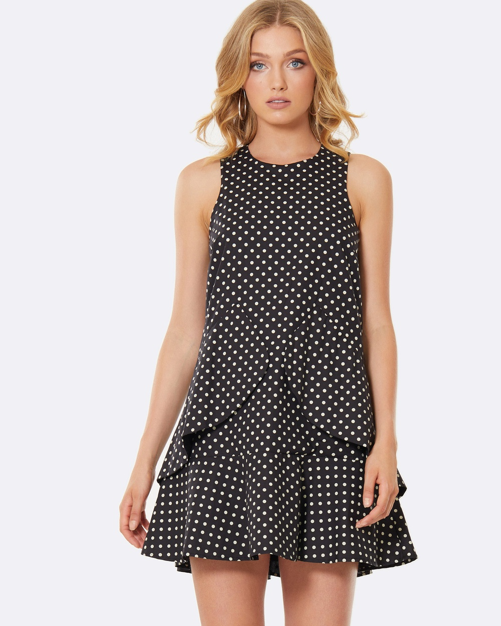 Calli Milly Dress Printed Dresses Black Milly Dress
