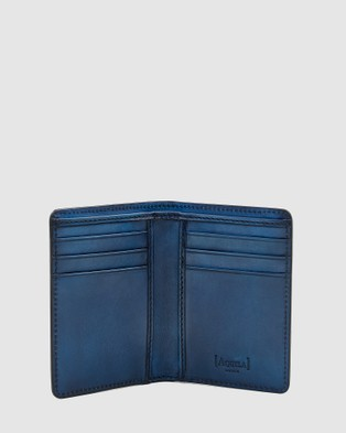 Aquila Archie Card Wallet Travel and Luggage Navy
