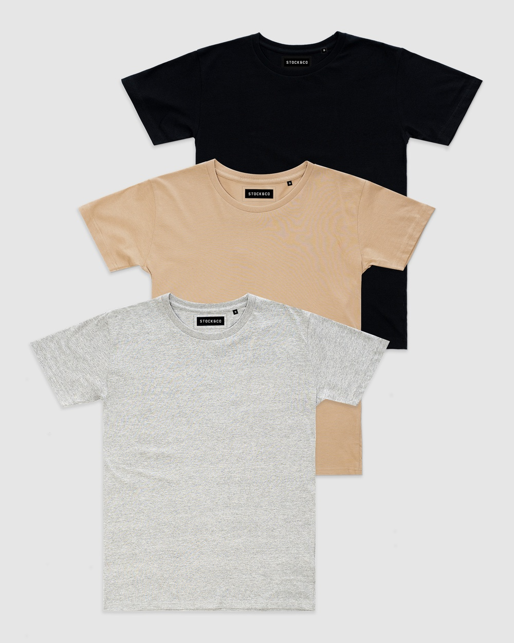 Stock & Co. - 3 Pack Stock Tee   Teens - T-Shirts & Singlets (MULTI) 3-Pack Stock Tee - Teens