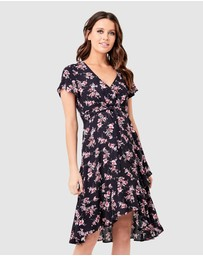 Ripe Maternity - Rosa Tie Front Dress