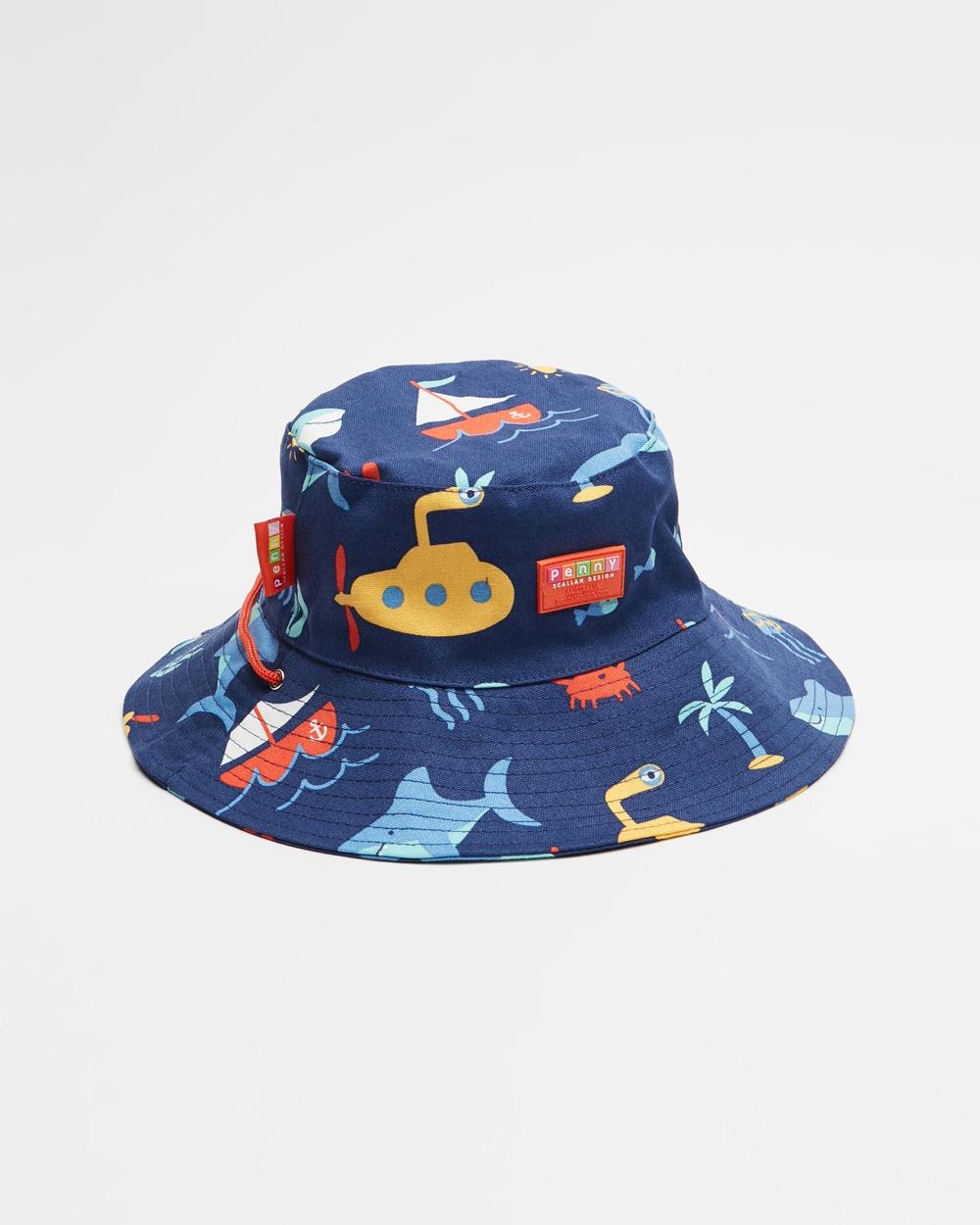 Penny Scallan Bucket Hat Hats Anchors Away