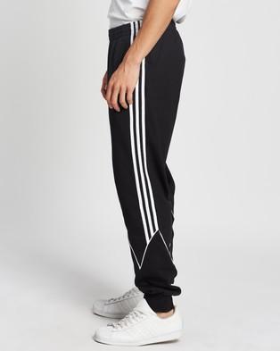 adidas Originals Big Trefoil Abstract Sweatpants - Sweatpants (Black & White)