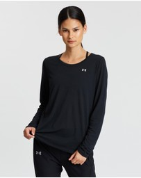 Under Armour - Whisperlight Mesh Long Sleeve Tee