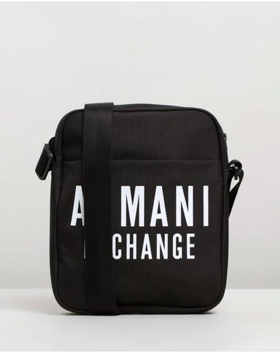 Armani Exchange Messenger Bag Black