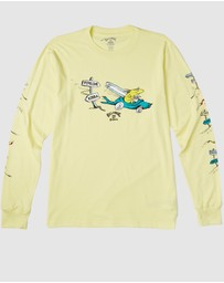 Billabong - Little Car Long Sleeve Tee