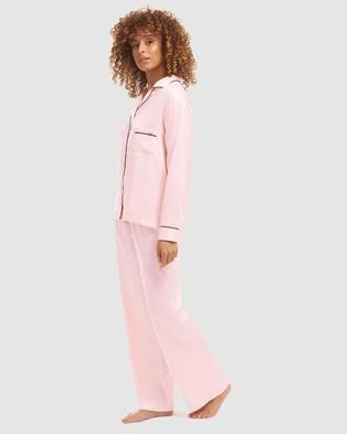 Bluebella Abigail Pyjamas - Two-piece sets (Pale Pink & Black)
