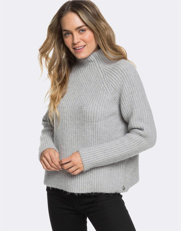 Roxy - Womens Casual Lifestyle Mock Neck Knit Jumper