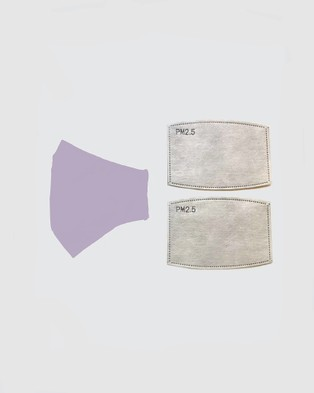 Clear Collective - Reusable Cotton Face Mask Wellness (Lavender)