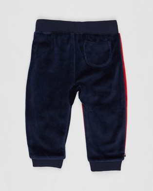 Tommy Hilfiger Colourblock Sweatpants   Babies - Clothing (Navy & Red)