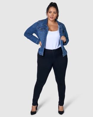 Indigo Tonic Denise Denim Jacket - Denim jacket (Blue)