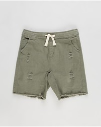 Cotton On Kids - Street Slouch Shorts - Teens