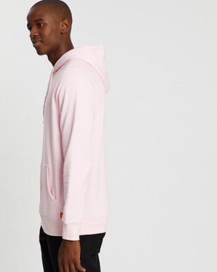 Justin Cassin Classic Logo Pullover Hoodie - Hoodies (Pink)