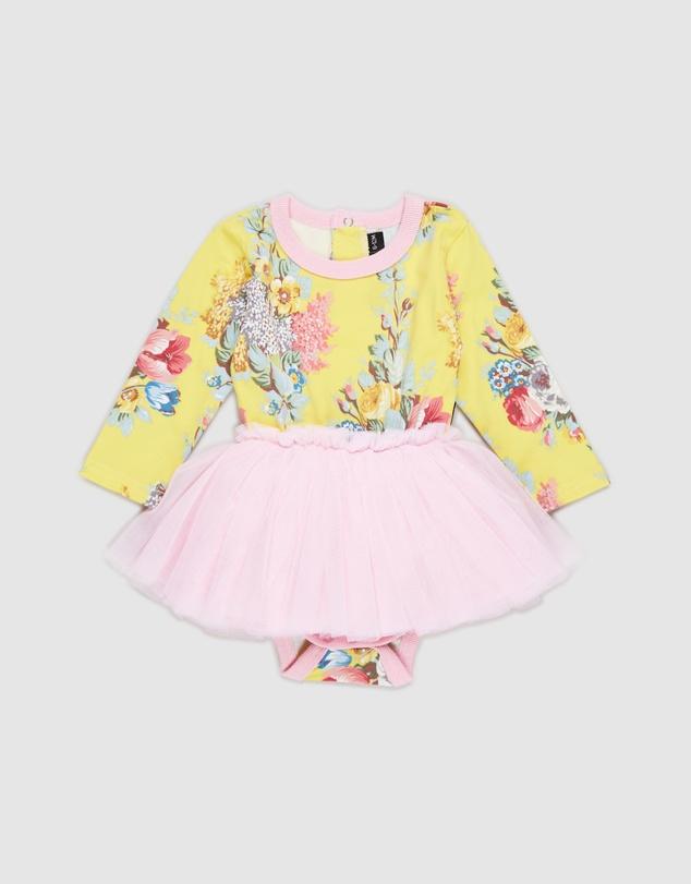 Kids Floral Chintz Circus Dress - Babies