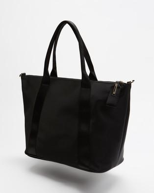 Ted Baker Nanccie Nylon Small Tote Bag - Handbags (Black)