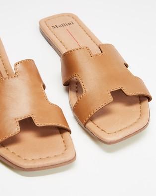 Mollini Leamon - Sandals (Tan)