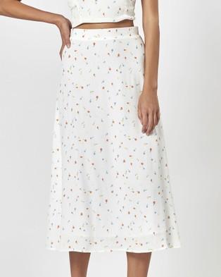 Charlie Holiday Frieda Skirt - Skirts (Spring Flowers)
