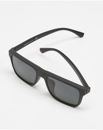 Emporio Armani 0ea4115f Clip-on Set Black