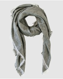 Cloth & Co. - Hand Loomed Cashmere & Linen Scarf