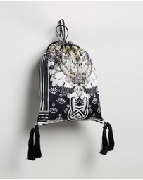 Camilla - Drawstring Embelished Pouch