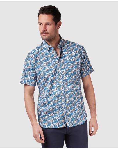 Blazer William Short Sleeve Print Shirt Multi