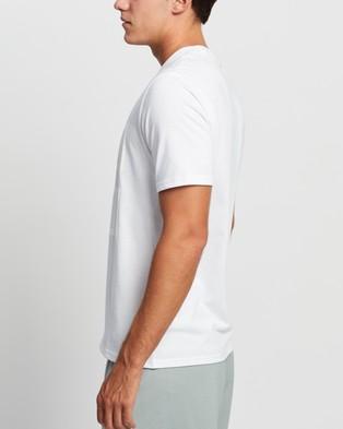 Calvin Klein Performance - Logo SS Tee Short Sleeve T-Shirts (Bright White)