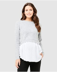 Ripe Maternity - Mandy Detachable Knit