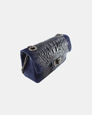 Lux Haide Emma Cross Body Clutch Bag - Clutches (Navy)