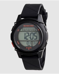 Quiksilver - Boys 8-16 Stringer 39mm Digital Silicone Watch