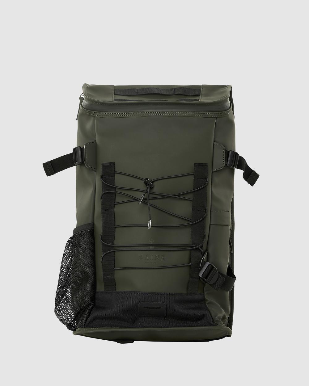 RAINS Mountaineer Bag Bags Green