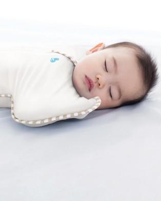 Love to Dream SWADDLE UP?äó Organic 1.0 Tog - Sleeping bags (Cream)
