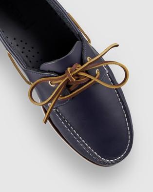 Aquila Helm Boat Shoes - Dress Shoes (Navy)