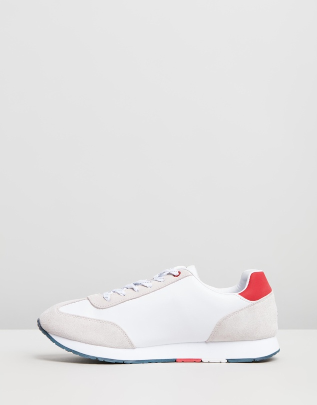 Tommy Hilfiger - Corporate Leather Flag Sneakers