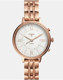 Fossil - Q Jacqueline Rose Gold Hybrid Smartwatch
