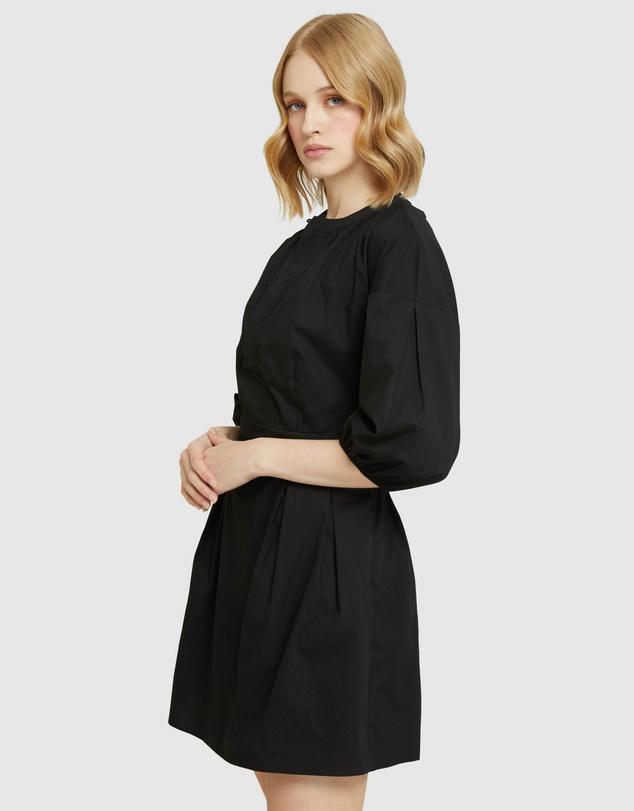 Women Spector Cotton Poplin Dress