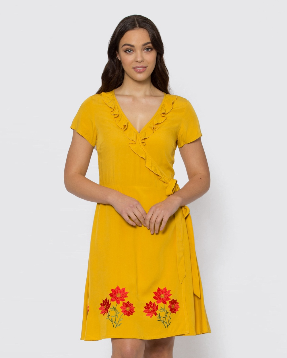 Dangerfield Yellow Country Festival Dress