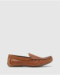 Oxford - Morgan Leather Slip On Shoe