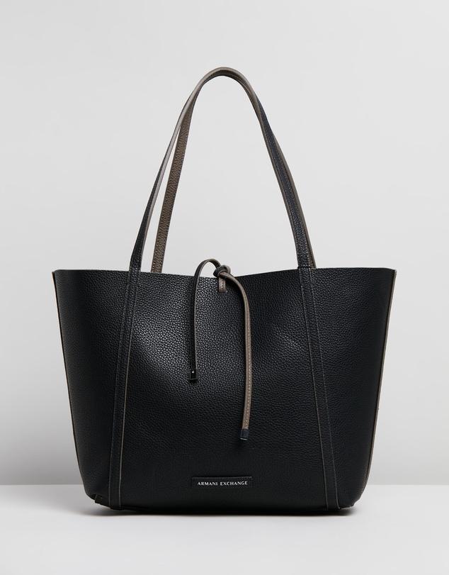 c739fd72e1 Pebble PU Reversible Tote Bag by Armani Exchange Online