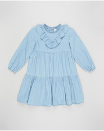 Cotton On Kids - Laura Long Sleeve Dress - Kids
