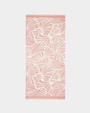 Florence Broadhurst Japanese Fans Scarf - Scarves & Gloves (Rose)
